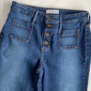 Guess High Rise Wide Leg Jeans 👖
